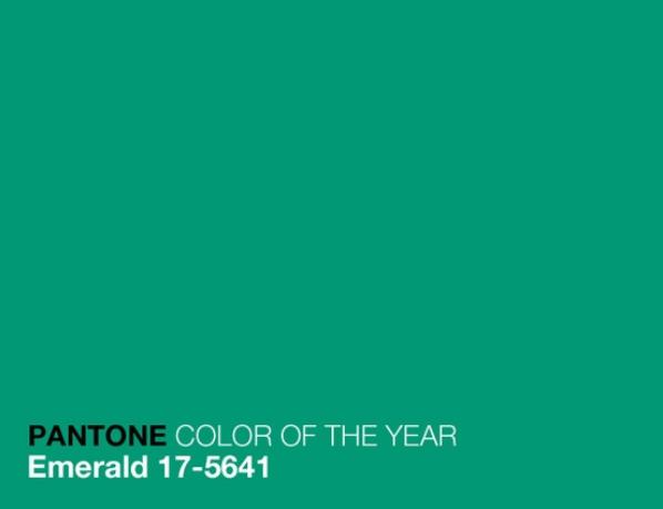 verde esmeralda pantone