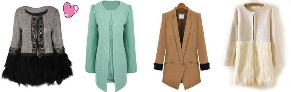 sheinside coats